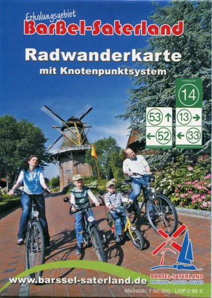 "Radwanderkarte mit Knotenpunktsystem ""Erholungsgebiet Barßel - Saterland"""