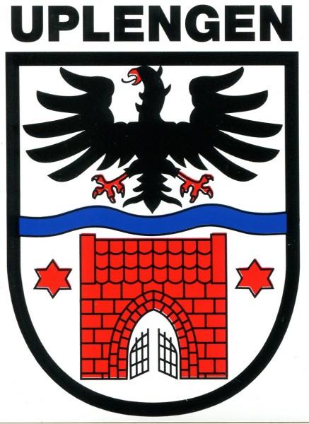 "Aufkleber ""Wappen Uplengen"""